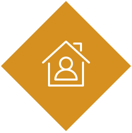Icône avec une maison