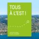 Couverture verte de la brochure Tous à l'est
